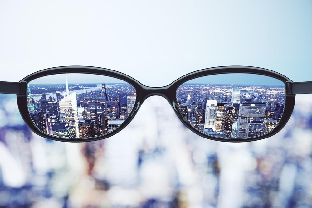 Crystal Lens Glasses